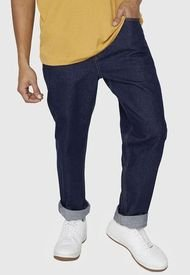 Jeans Relaxed Raw - Hombre Corona