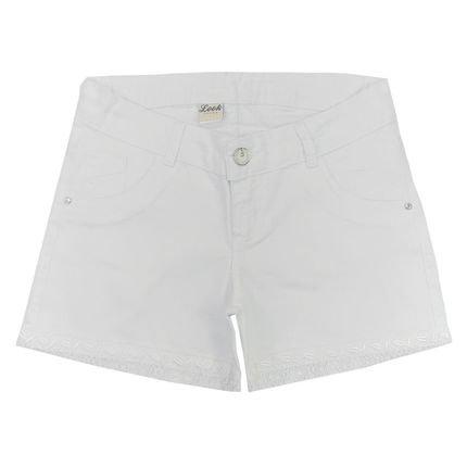 Look Jeans Shorts Look Jeans Sarja Branco dHsiT
