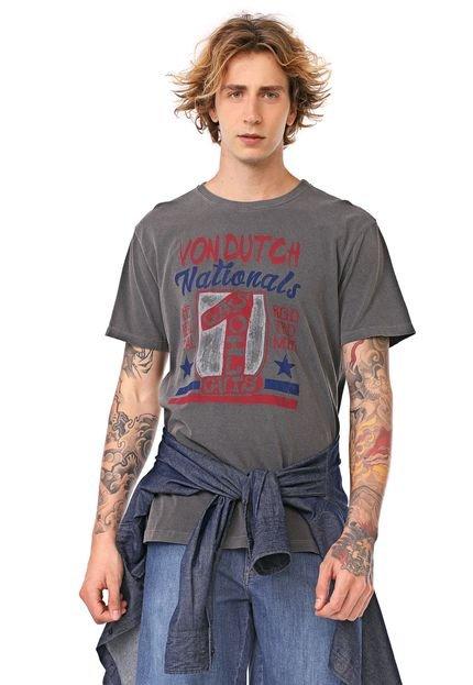 Camiseta Von Dutch National 1 Grafite