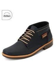 Zapato Azul *Tostado Tellenzi M0706