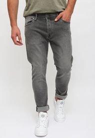 Jeans Jack & Jones JJIGLENN JJORIGINAL NA 034 Gris - Calce Slim Fit