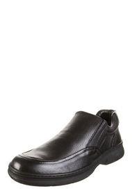 Zapato Negro Stork Man Constantino de Cuero