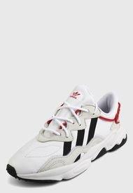 Tenis Lifestyle Blanco-Rojo-Negro adidas Originals Ozweego