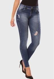 Jeans Push Up Amapola Azul Medio TYT Jeans