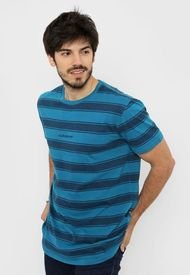 Remera Azul Quiksilver Maxed Out