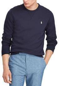 Poleron Hombre Double-Knit Azul Polo