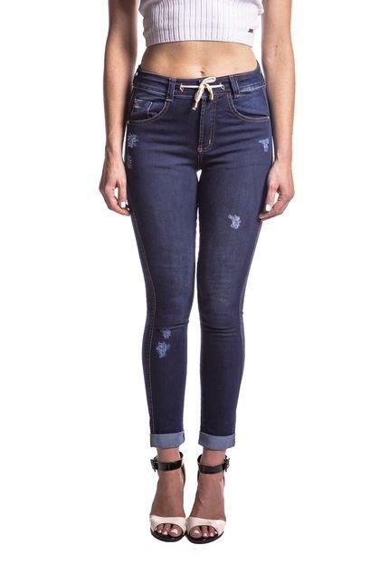Aero Jeans Calça Jeans Aero Jeans Skinny Azul wiPdW