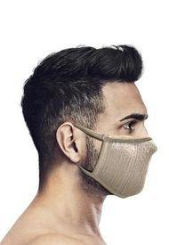 Mascara Deportiva Con Filtro Lavable FU+ Beige Naroo Mask