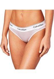 Panties Bikini Modern Cotton Wet Look Rosa Calvin Klein
