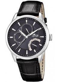 Reloj Negro Lotus Hombre Multifuncion