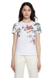Camiseta Blanco-Multicolor Desigual