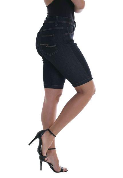 Osmoze Bermuda Jeans Osmoze Middle Plus Z 23858 Un Azul