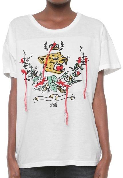 Ellus 2ND Floor Camiseta Ellus 2ND Floor Fine Once Branca