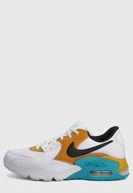 Tenis Lifestyle Blanco-Amarillo-Azul Nike Air Max Excee