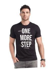 Camiseta Para Hombre Negro MP