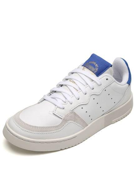adidas Originals Tênis Couro adidas Originals Supercourt Branco PXDuP