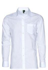 Camisa Escolar Slim Fit Juvenil Blanca Kotting