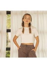T-shirt Marfil Para Mujer Hele T-Shirt Hele-Beige-L