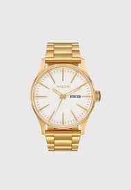 Reloj Análogo Dorado Nixon