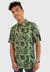 Camisa Oakley MC Multicolor - Calce Regular
