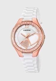 Reloj Casual Rosa Calypso