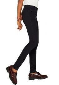 Pantalón De Cintura Alta Negro Esprit