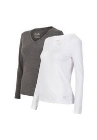 Pack 2 Camisetas Mujer Thermoactive V  Multicolor Doite