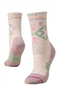 Calcetin Mujer Trekking Warm Socks Gris Lippi
