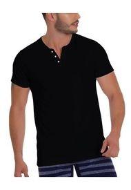 Camiseta Donatelo Negro CACHET