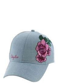 Jockey Rose Patch Hat Celeste Cat