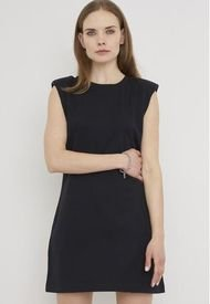 Vestido Algodón Orgánico Negro - Mujer Corona