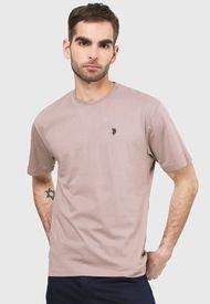 Camiseta Taupe Us Polo Assn