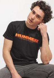 Polera Hummer MC Negro - Calce Regular
