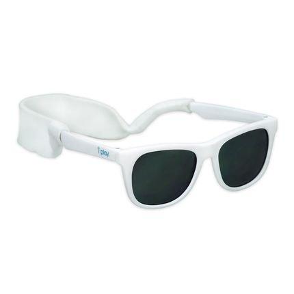 Óculos de sol branco, da Iplay