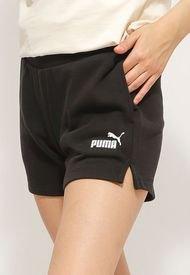 Short Puma ESS 4 Sweat Shorts TR Negro - Calce Regular