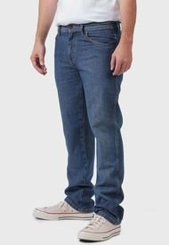 Jeans Wrangler  Texas Straight Azul - Calce Regular