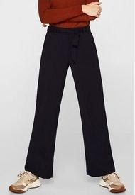 Pantalón Wide-leg Azul Esprit