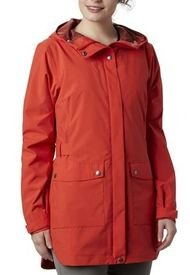 Cortaviento Mujer Here And There Jkt Polyester Naranja Columbia