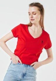 Camiseta Rojo Us Polo Assn