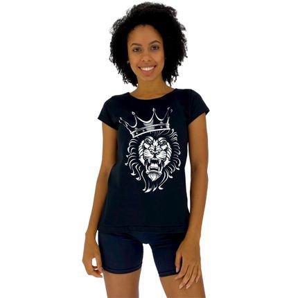 Alto Conceito Camisa Babylook Alto Conceito King Lion Preto 8QfBE