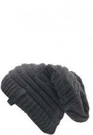 Gorro Angle Beanie Outline Gris Flawless