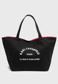 Cartera Negro Karl Lagerfeld
