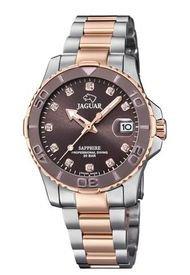 Reloj Executive Plateado Jaguar