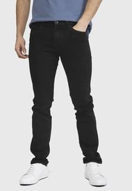 Jeans Long Beach POLO CLUB Negro - Calce Slim Fit