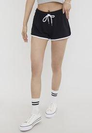 Short Deportivo II Negro - Mujer Corona