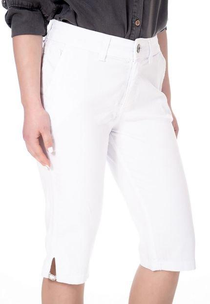 Sisal Jeans Bermuda Sisal Jeans Pedal Social Bege