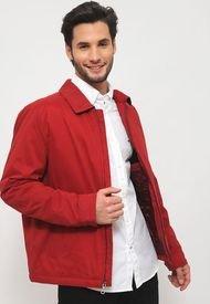 Chaqueta Tommy Hilfiger MICROTWILL Rojo - Calce Regular