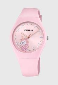 Reloj Casual Rosado Calypso
