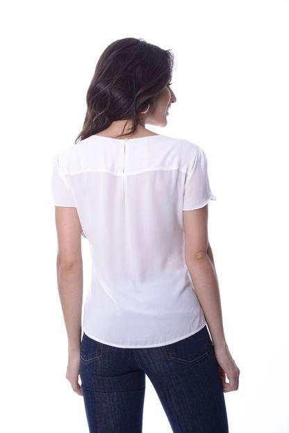Love Poetry Blusa Love Poetry Lisa Offwhite