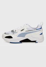 Tenis Lifestyle Blanco-Azul Puma Race X-Ray 2